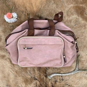 🌻 Madden Girl Pink Weekender Travel Bag!